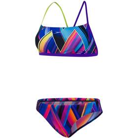 speedo Fizzbounce 2 Piece Crossback Bikini Women colourful
